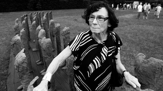 Magdalena Abakanowicz miała 86 lat (fot. PAP/Tomasz Gzell)