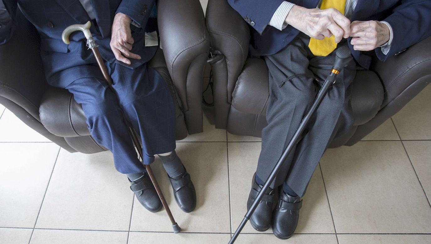 27 belgijskich seniorów nadal dostaje świadczenia obiecane im przez Hitlera (fot. REUTERS/Yves Herman)