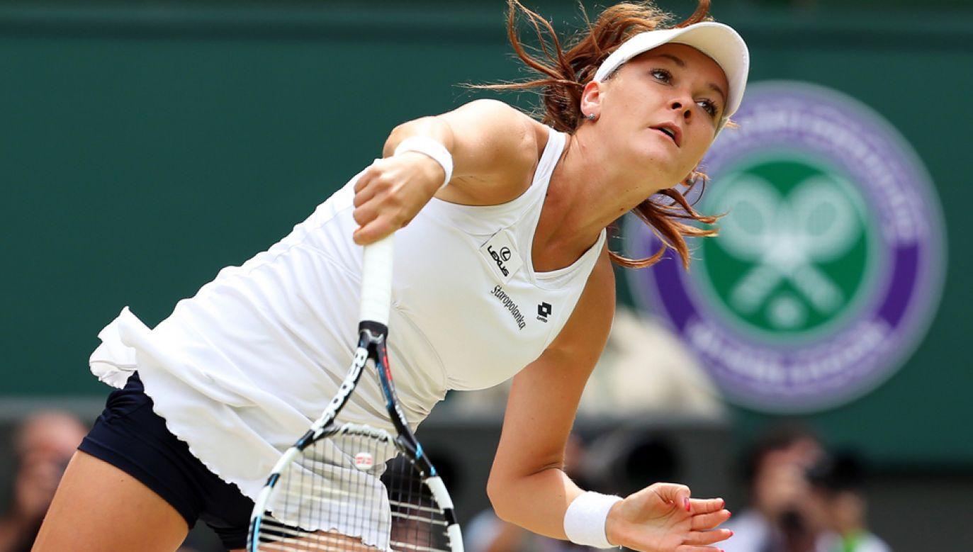 Agnieszka Radwańska  ogłosiła zakończenie kariery tenisistki (fot. PAP/EPA/JONATHAN BRADY)