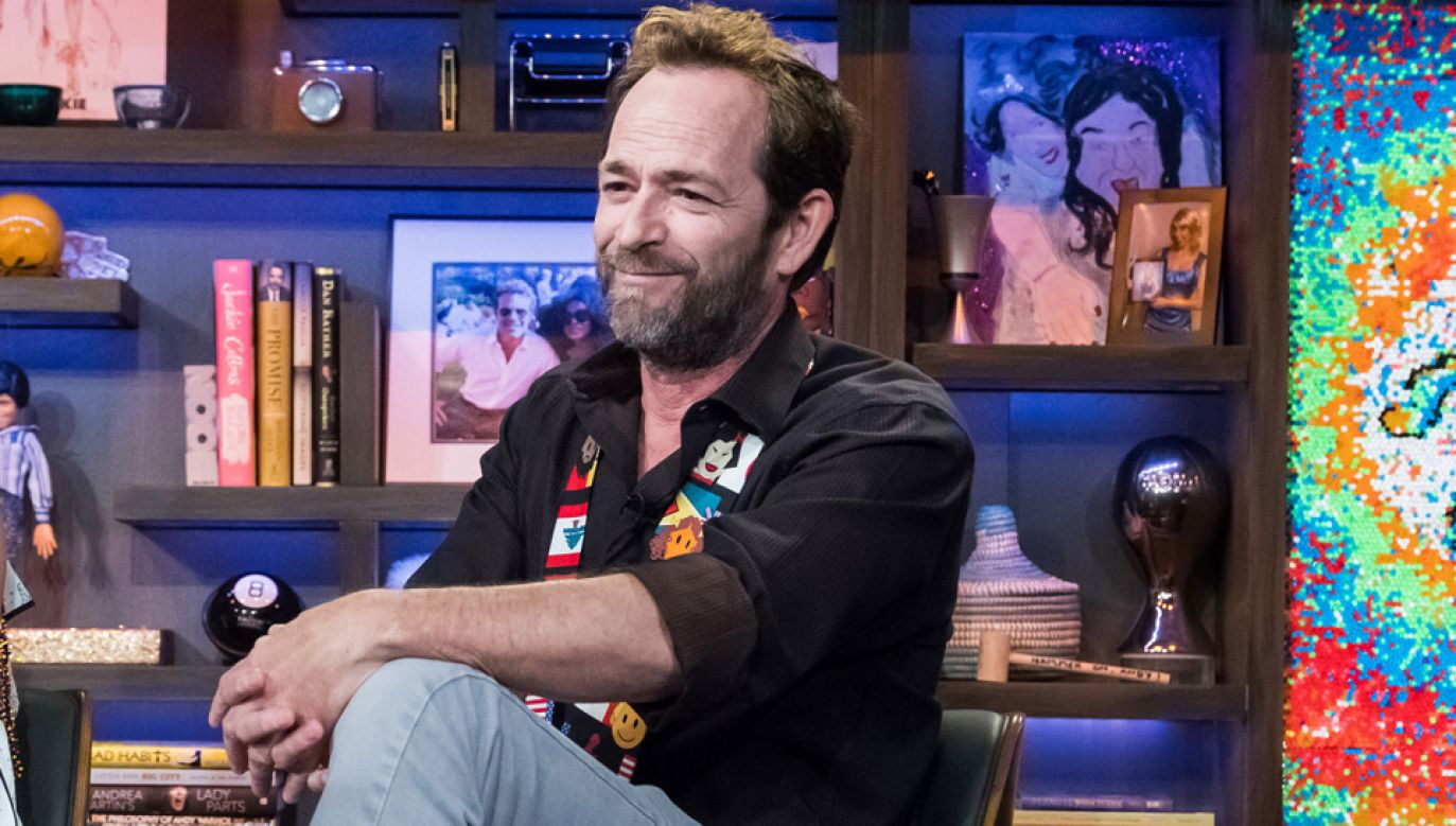 Luke Perry jest pod opieką lekarzy (fot. Charles Sykes/Bravo/NBCU Photo Bank via Getty Images)