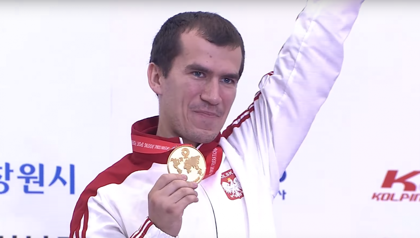Gold won by Tomasz Bartnik is the second medal for Poland at the 52nd World Shooting Championships. Photo: screenshot/ISSF - International Shooting Sport Federation Youtube channel