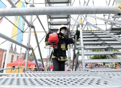 Najtwardsi strażacy w akcji