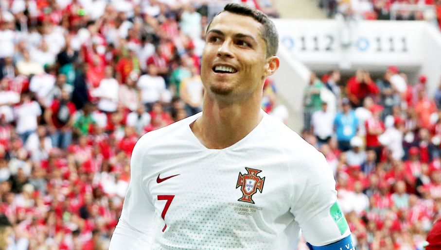 "c9c7294655a40 Cristiano Ronaldo i jego nowy talizman - ""kozia bródka"" (fot.  PAP/EPA/EPA/ABEDIN TAHERKENAREH)"