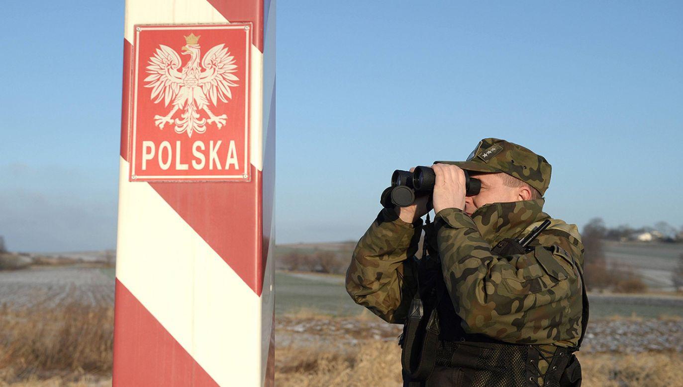 Straż Graniczna  (fot. PAP/Darek Delmanowicz)