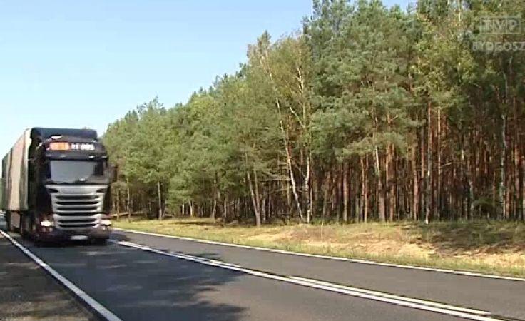 Kierowcy ciężarówek odpowiadają na policyjną akcję