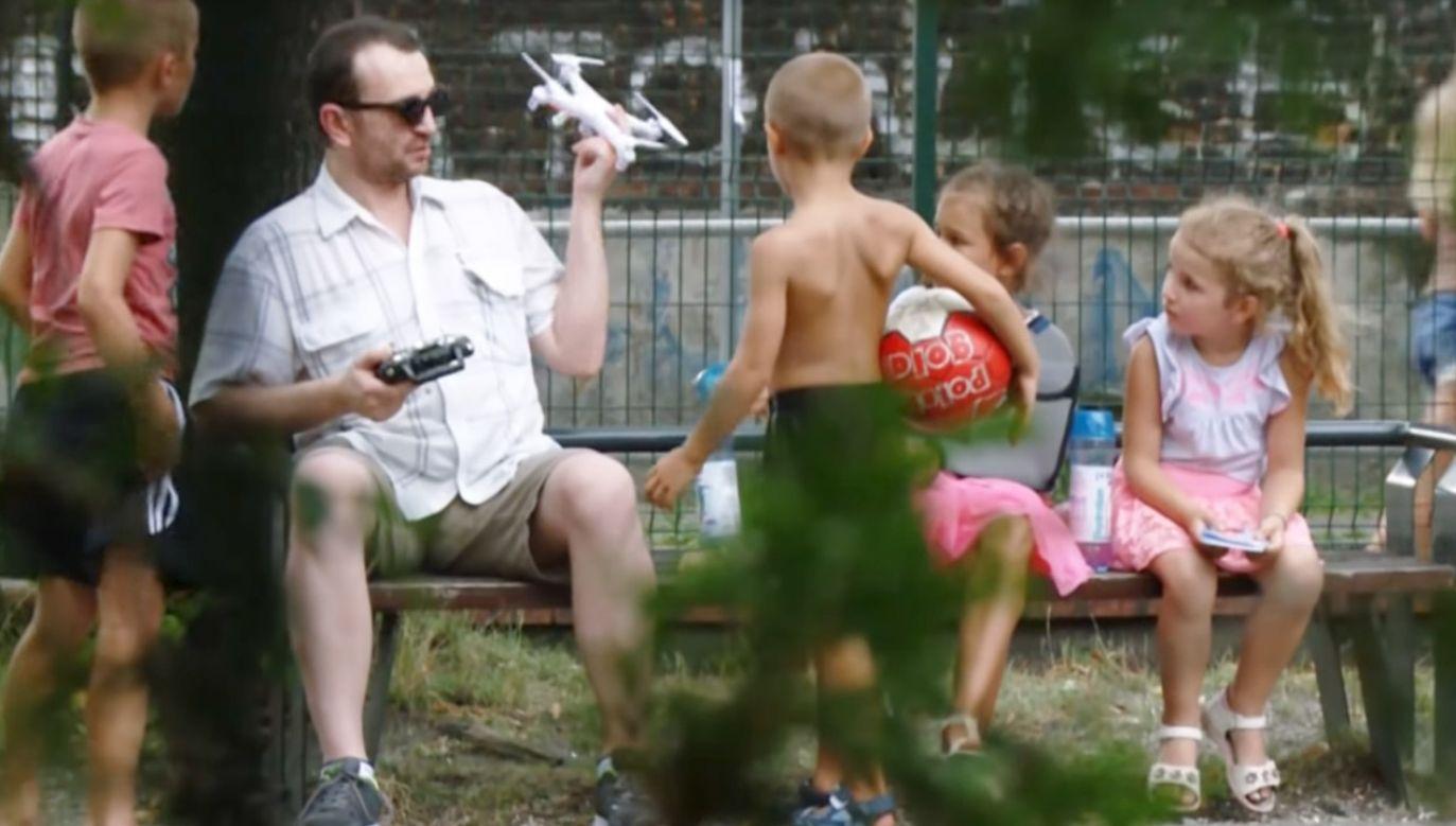 Większość dzieci była gotowa iść z nieznajomym (fot. policja.pl)