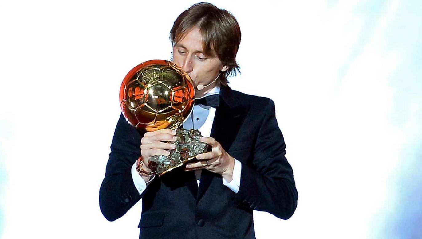 Luka Modrić uważany jest za najlepszego piłkarza w historii chorwackiej piłki (fot. Getty)