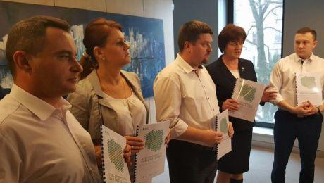PSL demonstruje program. Zdjęcie Michał Kita, Radio Kielce