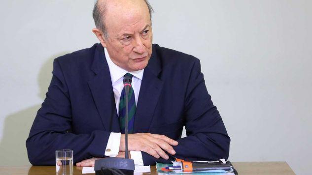 Rozpoczeło się przesłuchanie byłego ministra finansów w rządzie PO-PSL Jana Vincenta Rostowskiego (fot. arch. PAP/Rafał Guz)