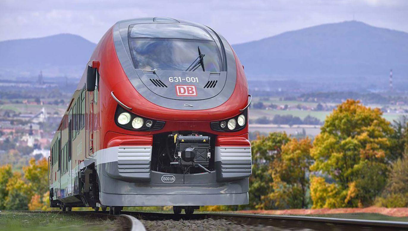 Niemieckie koleje zaprezentowały pociąg z bydgoskiej Pesy (fot. Materiały prasowe)