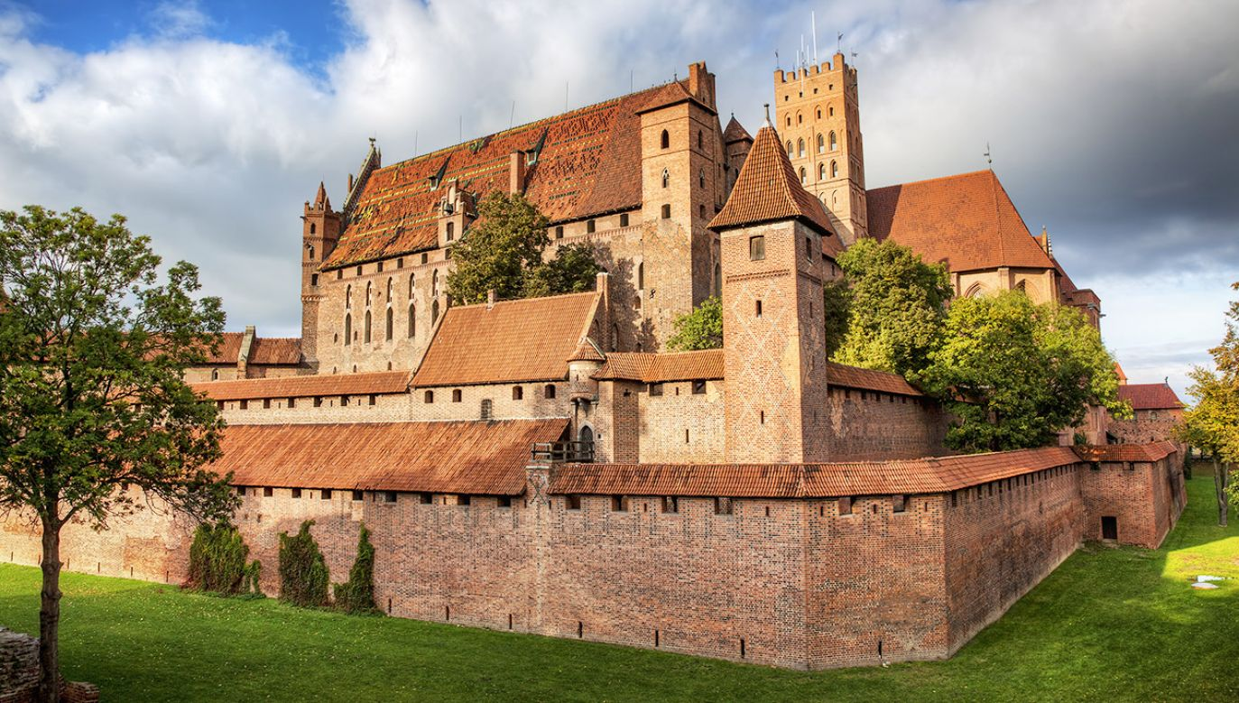 Zamek w Malborku (fot. Shutterstock/Rolf E. Staerk)