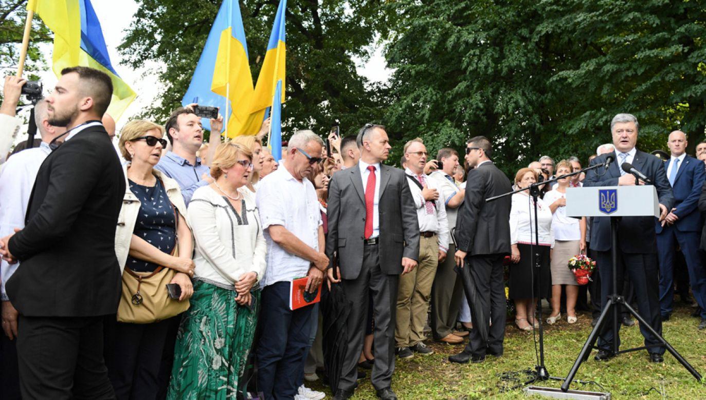 Z apelem o zmianę tych przepisów wystąpił w niedzielę ukraiński prezydent (fot. PAP/Wojciech Pacewicz)
