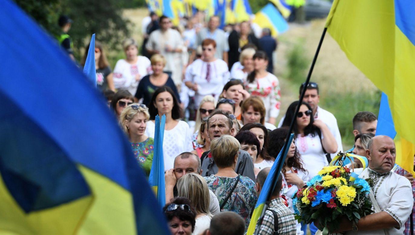 Polska będzie się domagać zezwoleń na ekshumacje na terytorium Ukrainy  (fot. PAP/Wojciech Pacewicz)