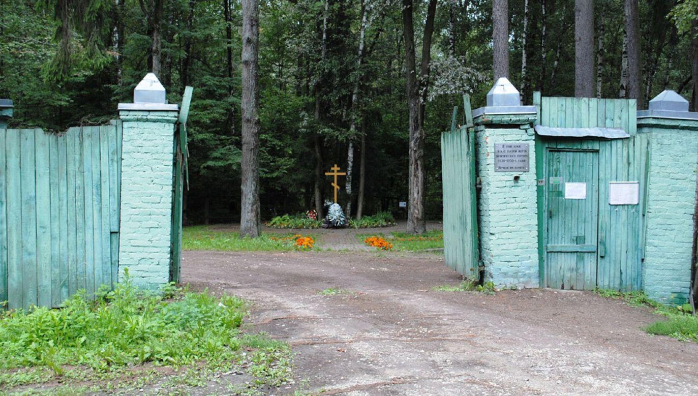 Na terenie poligonu Kommunarka pochowano co najmniej 6,6 tys. ofiar (fot. Wiki/Brattarb)