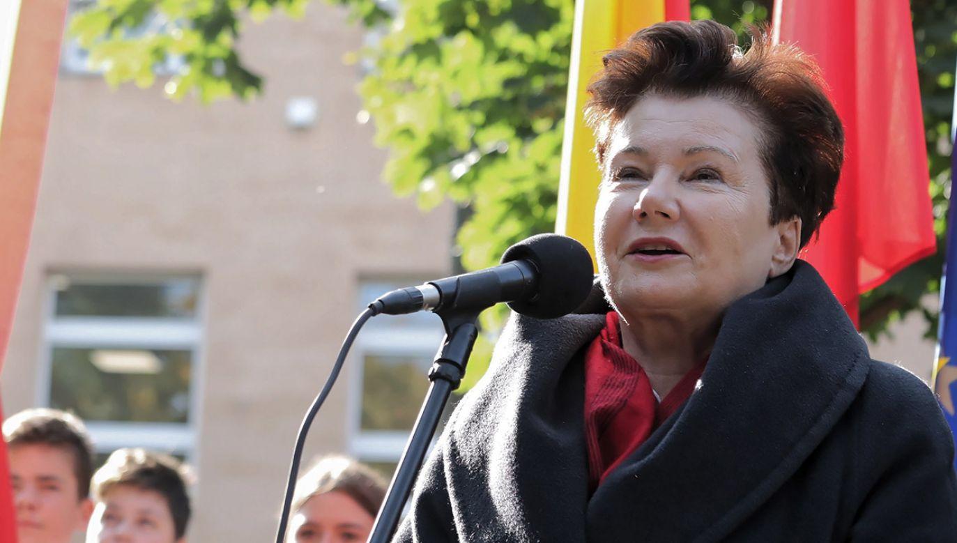 Hanna Gronkiewicz-Waltz skarży do TSUE grzywnę za niestawiennictwo na komisji weryfikacyjnej (fot. PAP/Tomasz Gzell)