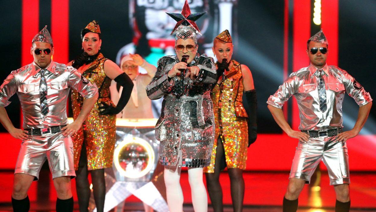 """Verka zaśpiewała hit """"Toy"""", którym Izraelka Netta wygrała ubiegłoroczną Eurowizję  (fot. PAP/EPA)"""