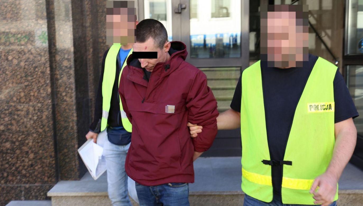 Po publikacjach w mediach sprawca sam zgłosił się do komisariatu (fot. lubelska.policja.gov.pl)