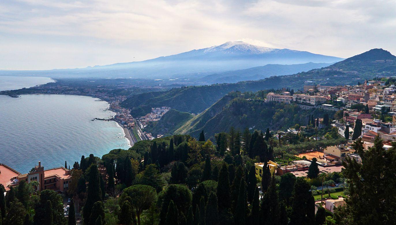 Etna to największy czynny wulkan w Europie (fot. EyesWideOpen/Getty Images)
