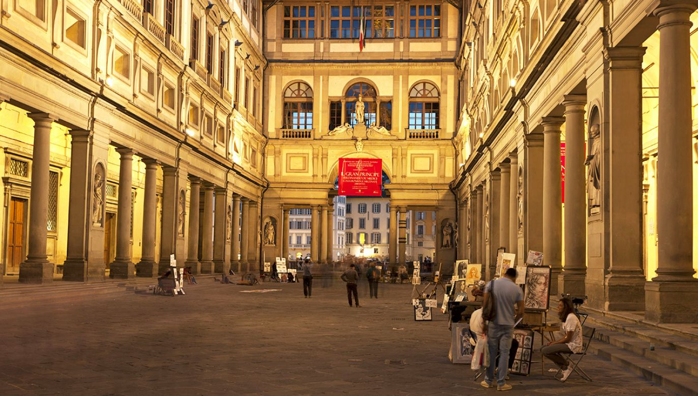 Galeria Uffizi we Florencji (fot. Mayall/ullstein bild via Getty Images)