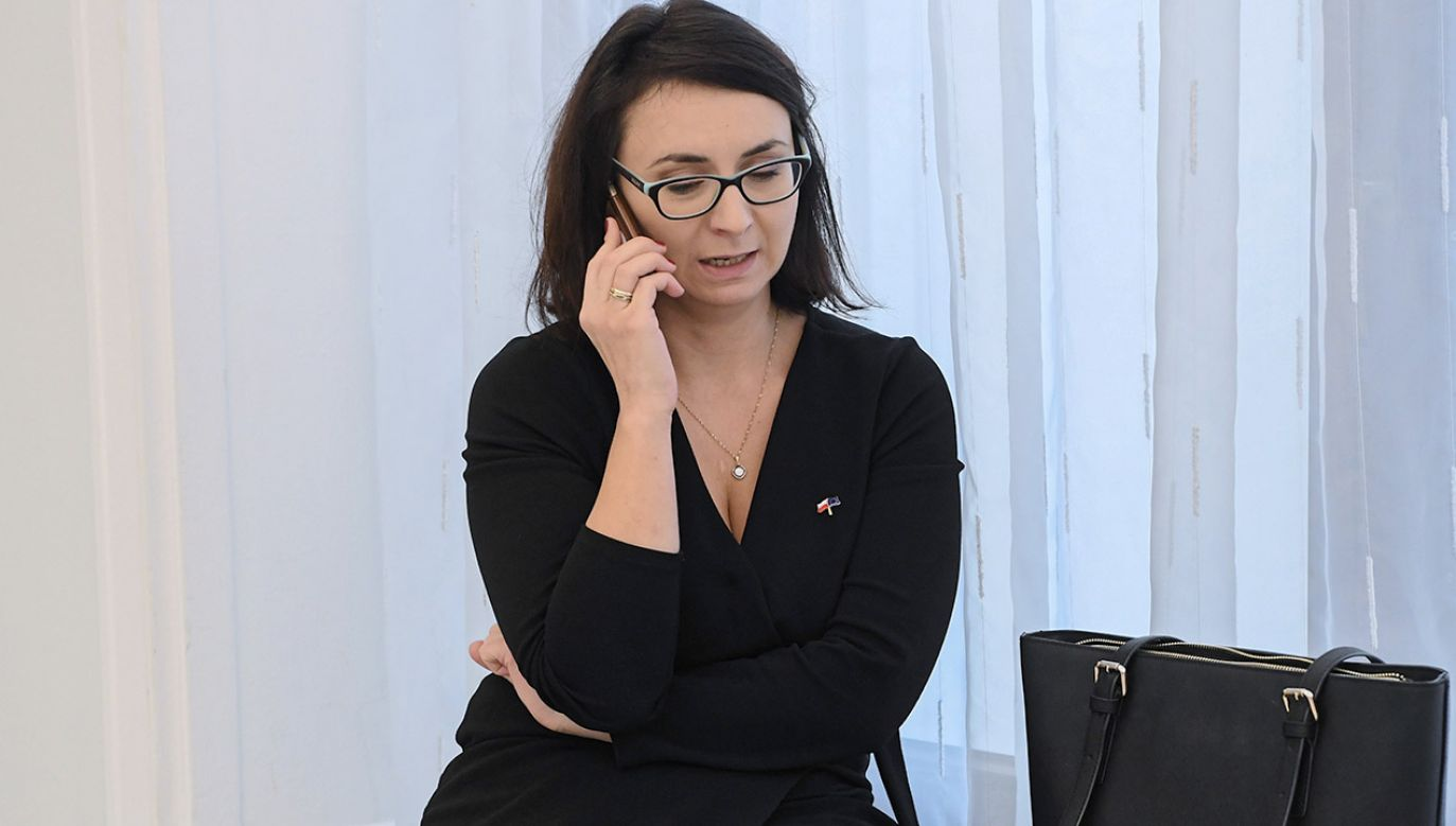 Kamila Gasiuk-Pihowicz, za przejście do PO-KO, miała dostać miejsce na liście w wyborach do Parlamentu Europejskiego (fot. arch.PAP/Piotr Nowak)