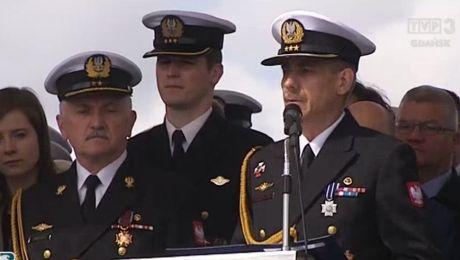Nowy dowódca Centrum Operacji Morskich MW