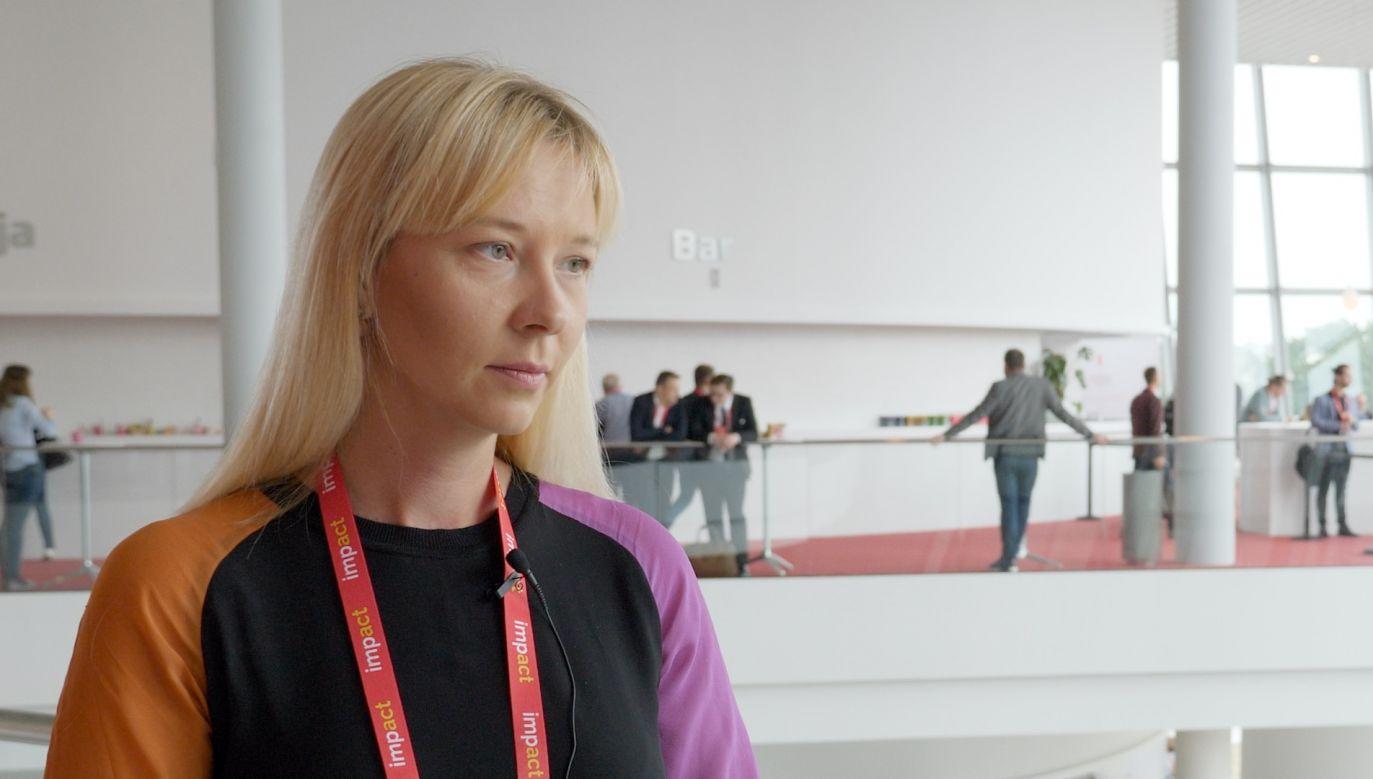 Aleksandra Przegalińska PhD, Polish researcher working at MIT in Cambridge, Massachusetts
