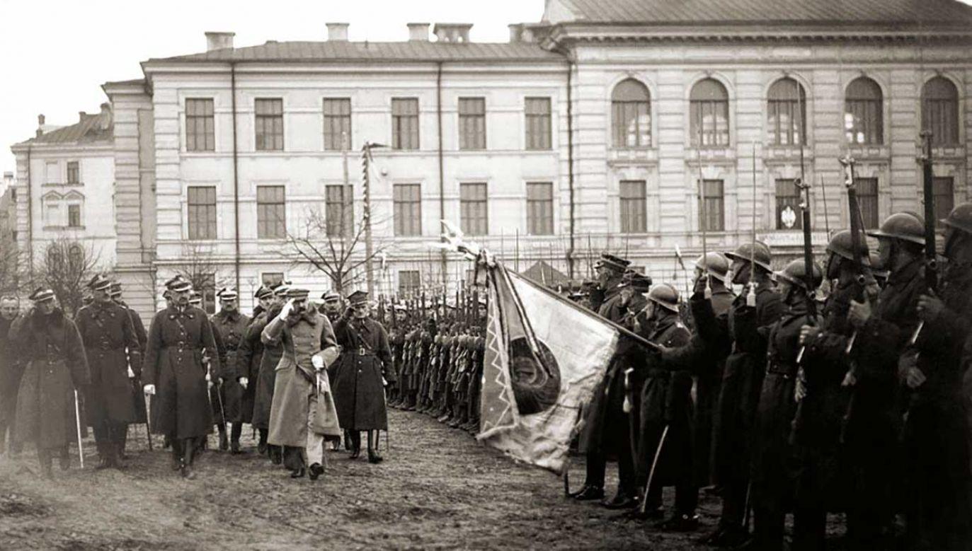 Udana operacja wileńska upewniła Józefa Piłsudskiego, że bolszewików można pokonać (fot. arch. PAP/Alamy)