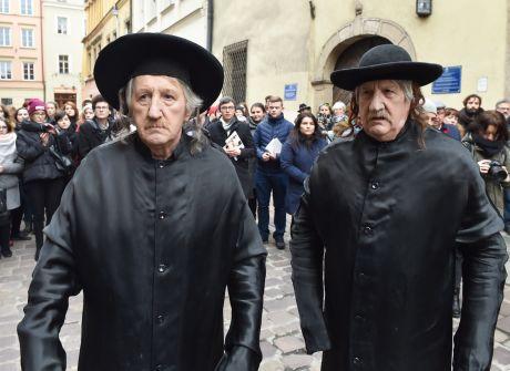 Żywe Pomniki ku czci Tadeusza Kantora