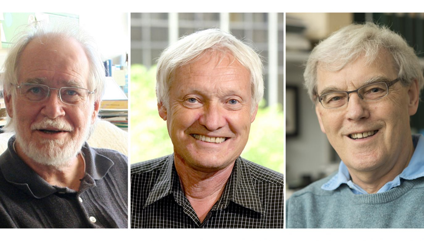 Ogłoszono laureatów nagrody Nobla z chemii (fot. PAP/EPA/UNIVERSITY LAUSANNE/COLUMBIA/CAMBRIDGE UNIVERSITY)