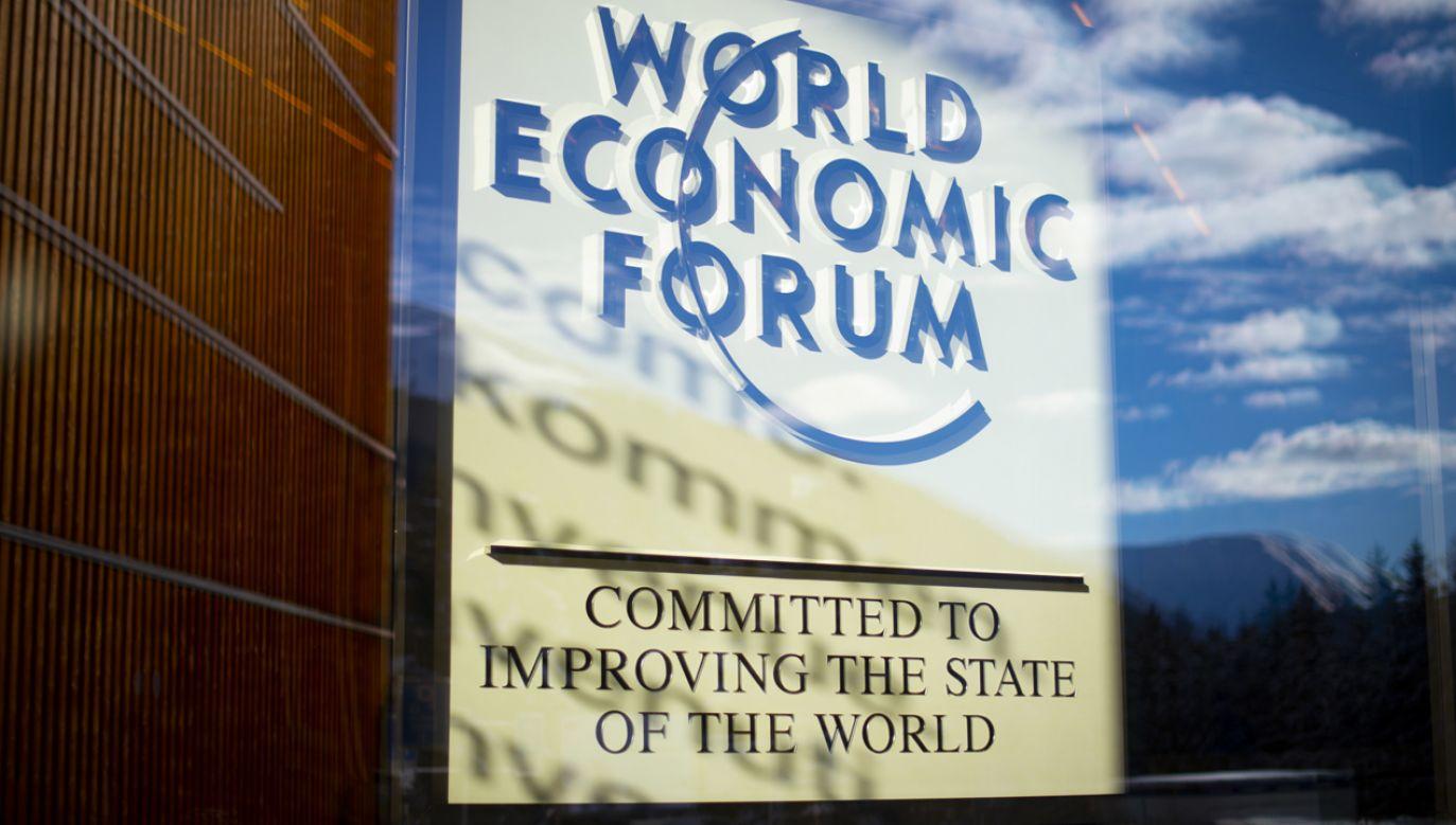 Prezydent Andrzej Duda przybył na Światowe Forum Ekonomiczne w Davos (fot. PAP/EPA/GIAN EHRENZELLER)