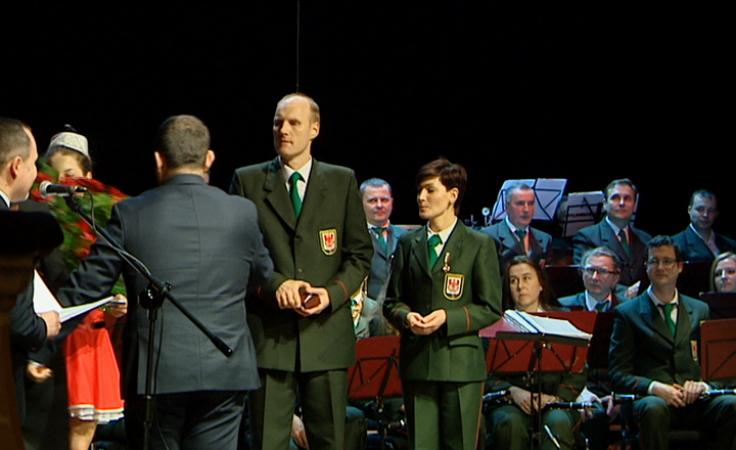 60 lat minęło... Odznaka Honorowa dla orkiestry dętej