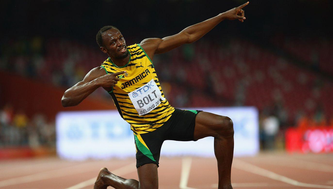Usain Bolt (fot. Ian Walton/Getty Images)