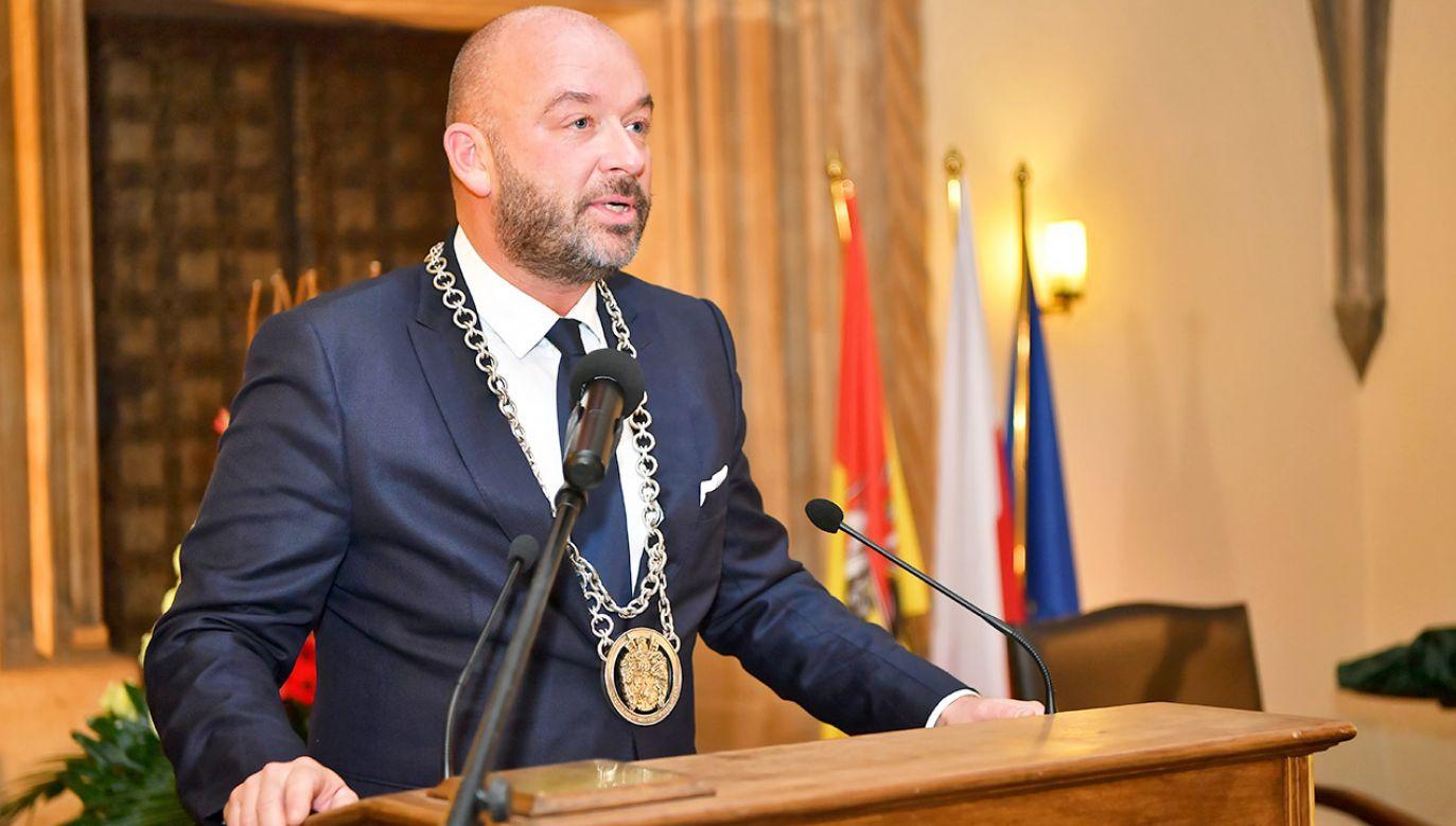 Jacek Sutryk (fot. arch.PAP/Maciej Kulczyński)