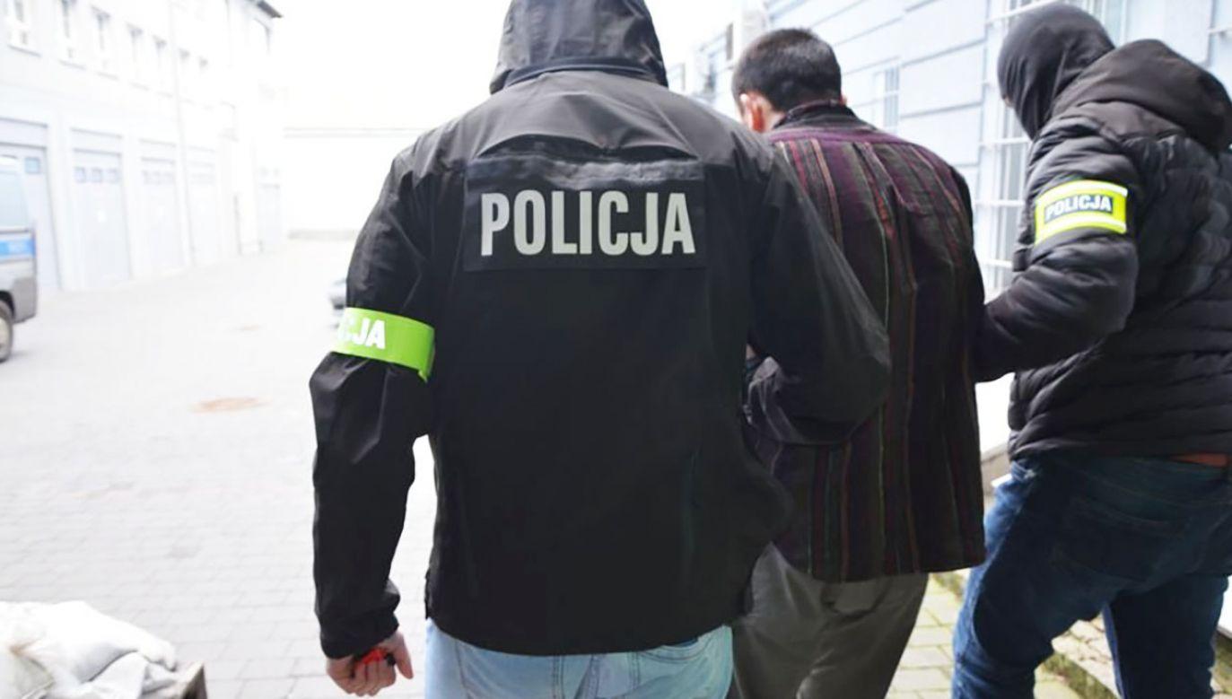 O swoich planach Stefan W. miał opowiadać koledze z więzienia, którego spotkał po wyjściu na wolność (fot. tt/@PomorskaPolicja)