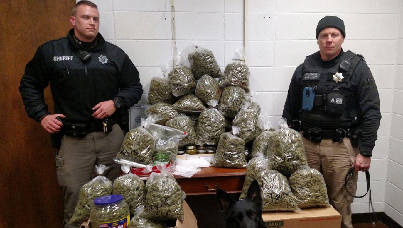 Policja zarekwirowała narkotyki o wartości ponad 330 tys. dolarów (fot. York County Sheriff's Department)