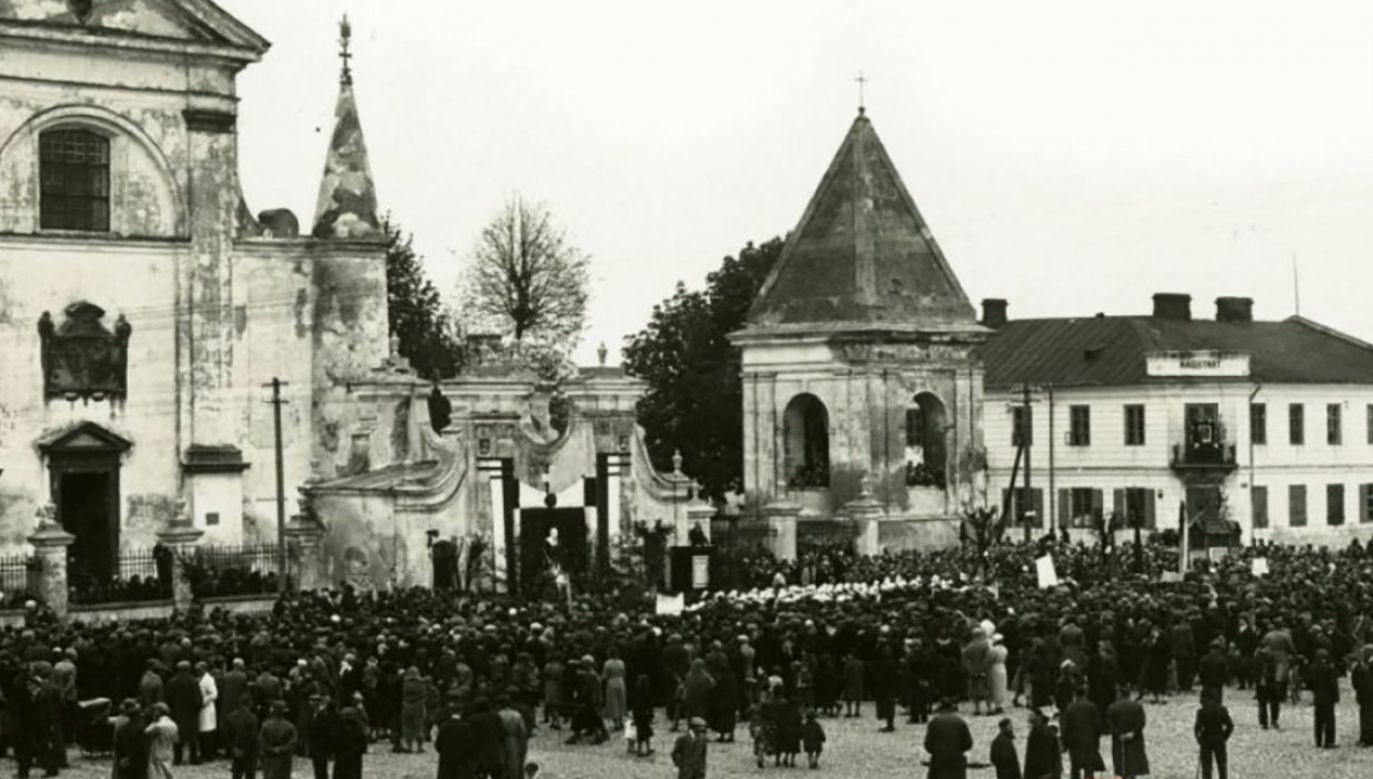 Węgrów w 1919 roku (fot. IPN)