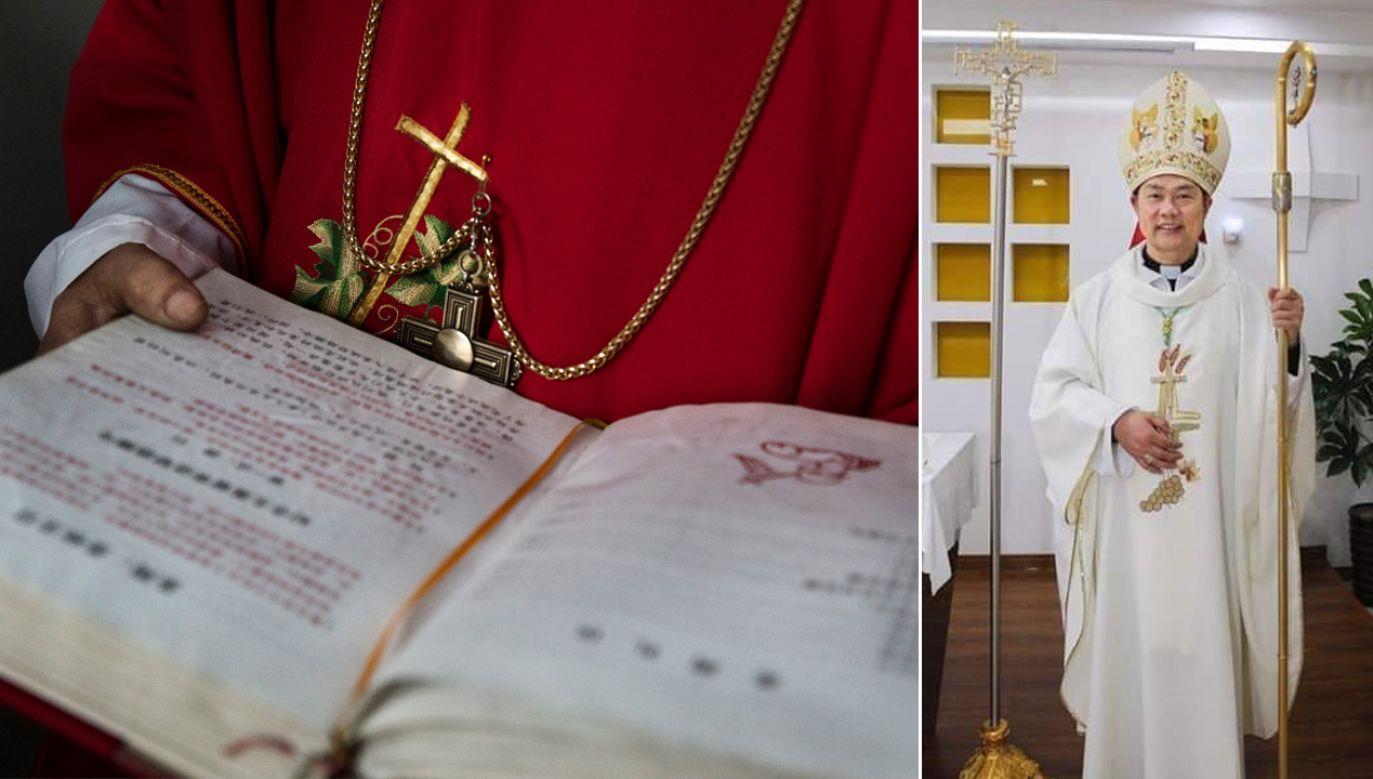 Lokalni urzędnicy nie wiedzą, co się stało z biskupem Shao (fot. Kevin Frayer/Getty Images/FB/John Glory Nguyen)