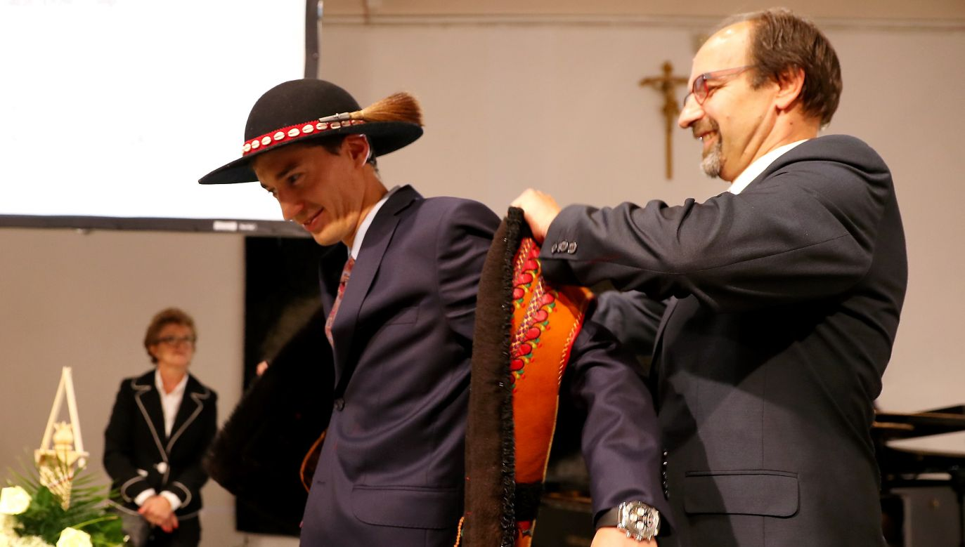 Polish three time Olympic champion receives freedom of the city from his hometown. Photo: PAP/Grzegorz Momot