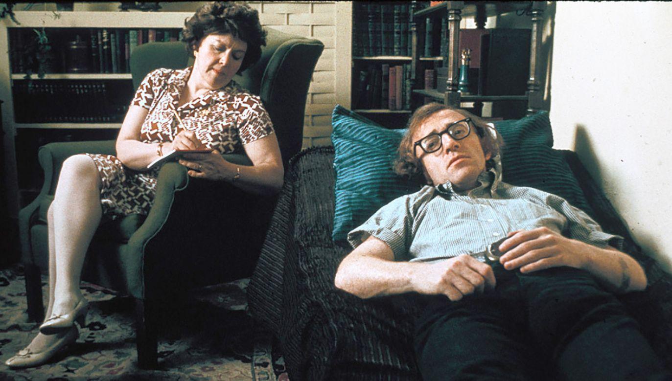 Woody Allen na kozetce terapeutycznej w filmie