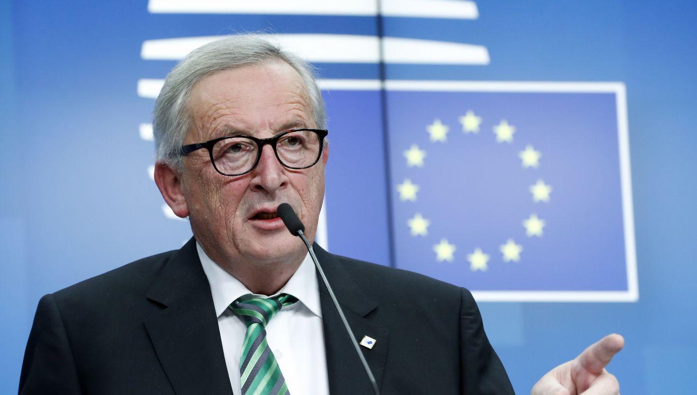 W Brukseli odbywa się szczyt dot. Brexitu (fot. PAP/OLIVIER HOSLET)