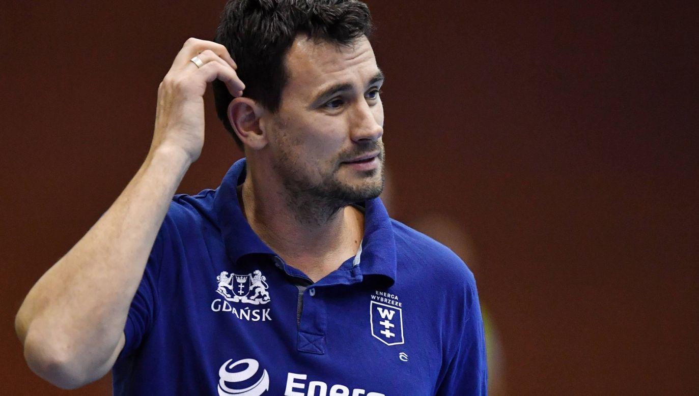 Marcin Lijewski był trenerem Wybrzeża od października 2015 roku (fot. PAP/Marcin Gadomski)