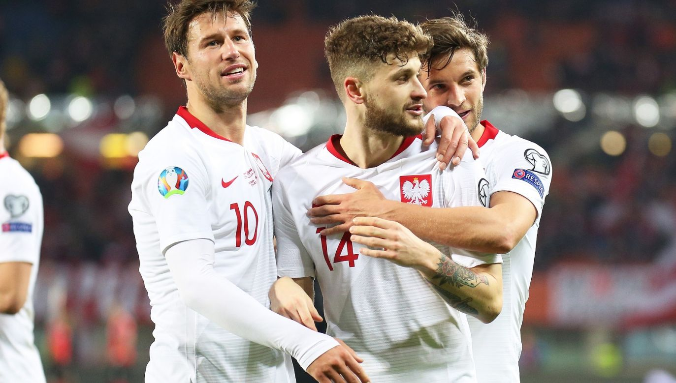Grzegorz Krychowiak, Mateusz Klich, Bartosz Bereszyński (fot. Getty Images)