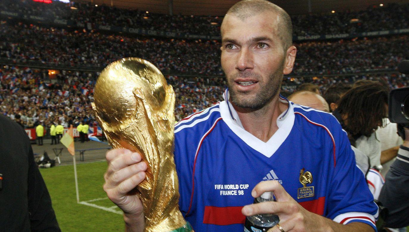 """Trójkolorowi"" zostali mistrzami świata w 1998 roku (fot.  REUTERS/Vincent Kessler)"