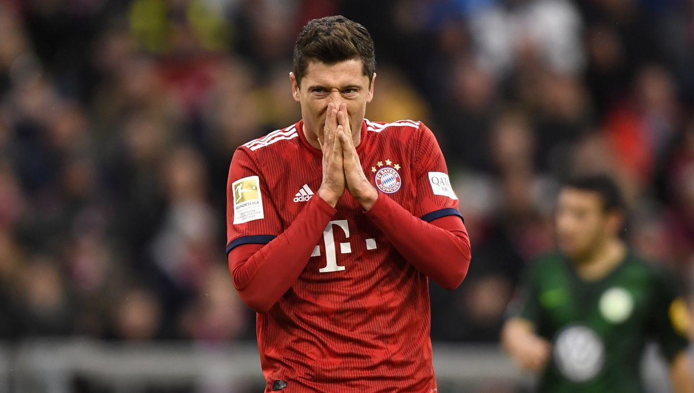 Lewandowski w Bundeslidze strzelił 197 goli (fot. PAP/EPA/LUKAS BARTH-TUTTAS)