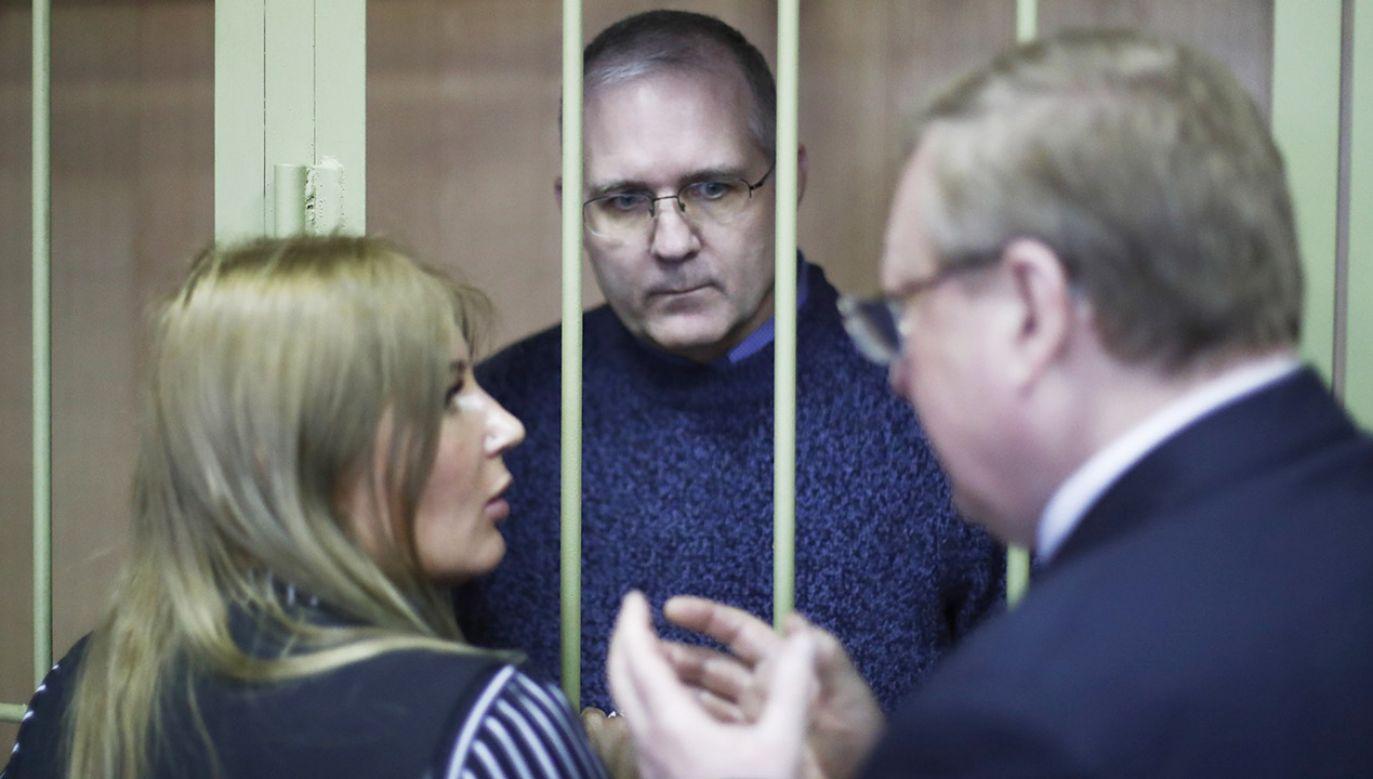 Ambasada USA powiadomiła, że dyplomaci odwiedzili go w areszcie (fot. PAP/EPA/SERGEI ILNITSKY)
