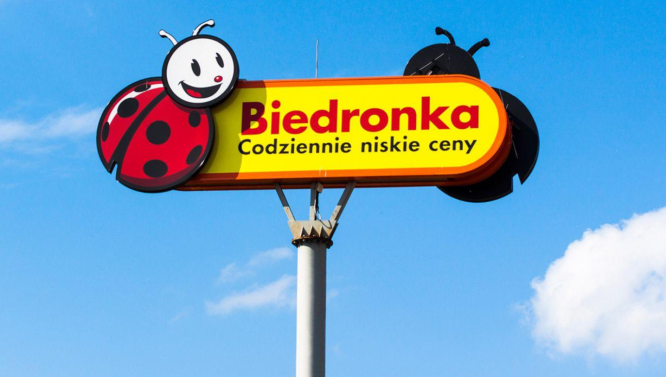 Biedronka to największa sieć detaliczna w Polsce, licząca ponad 2,8 tys. sklepów w ponad 1000 miejscowości (fot. Shutterstock/ksokolowska)
