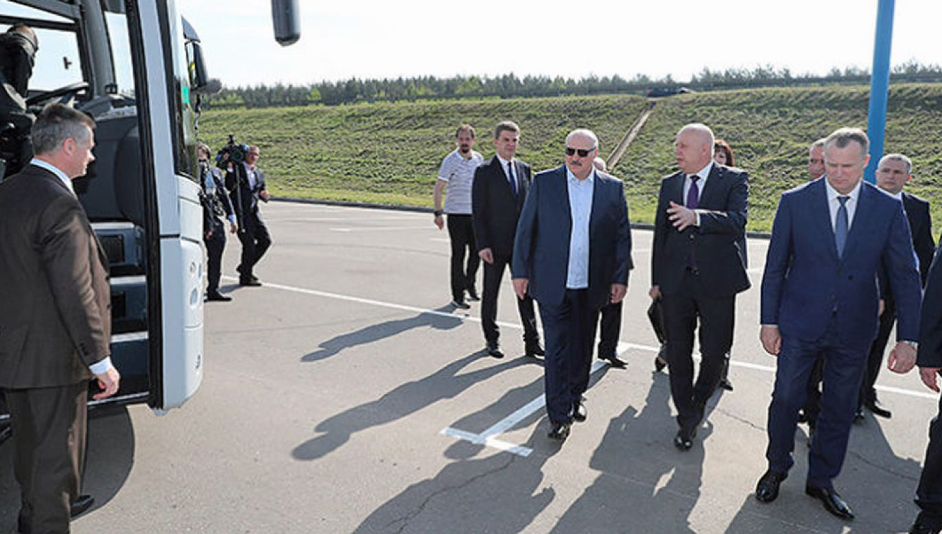 Prezydent Aleksandr Łukaszenka wybiela komunistyczne zbrodnie (fot. President.gov.by)