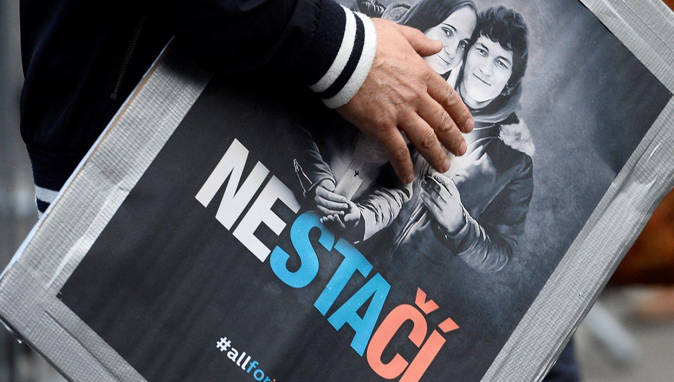 Morderstwo na Kuciaku i Kusznirovej wstrząsnęło Słowacją i spowodowało zmiany na szczytach władzy (fot. REUTERS/Radovan Stoklasa)