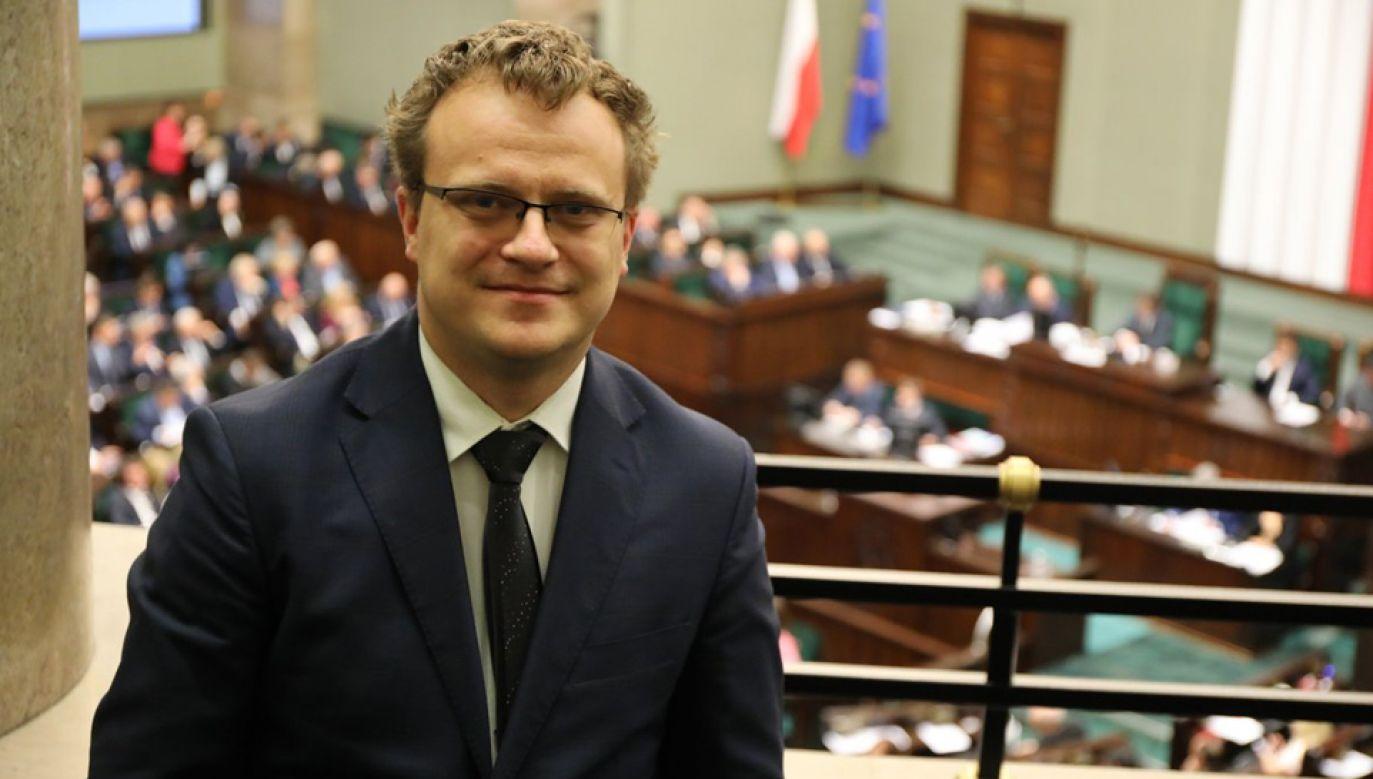 Radca prawny Maciej Prostko wybrany do Trybunału Stanu (fot. TT/ @KancelariaSejmu)