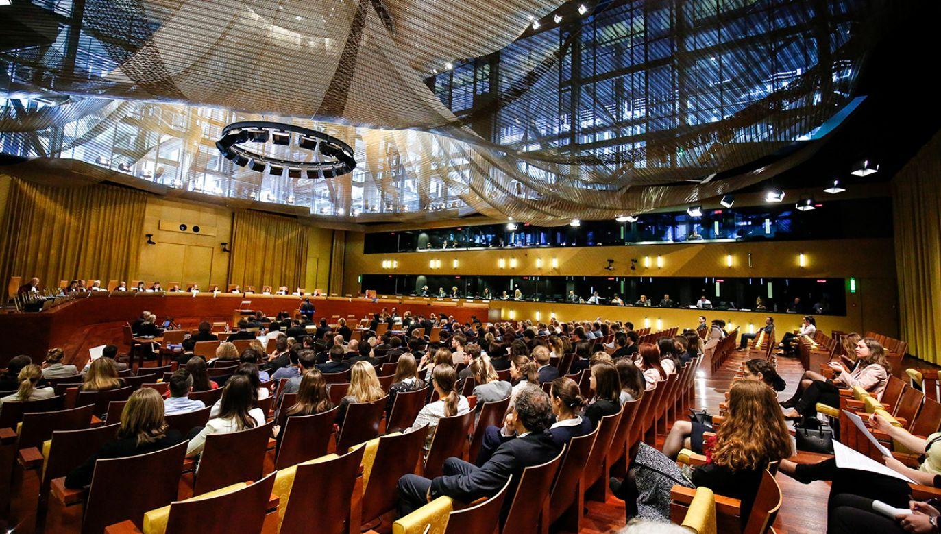 Trybunał Sprawiedliwości Unii Europejskiej w Luksemburgu (fot. arch. PAP/EPA/JULIEN WARNAND)